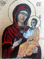 Icon Holly Mother, 15x20 cm., Price 200 EUR