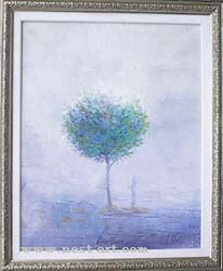 The artist Vladin Vladev,  The Tree of Life, 2007, oil on canvas, 40x50 cm., Price: EURO 780